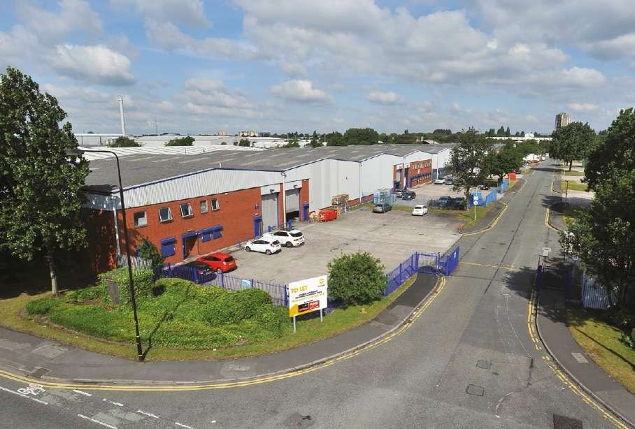 Trafford Park, Guinness Road Trading Estate